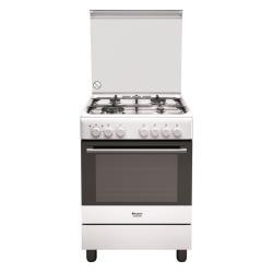 Cucina a gas Hotpoint - H6tmh2af (w) it