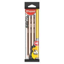 Matita Maped - Black'peps matite in grafite blister 3