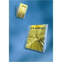 Porte-brochures DURABLE COMBIBOXX - Porte-document - montable au mur, bureau - pour A4, 311 x 240 mm - transparent