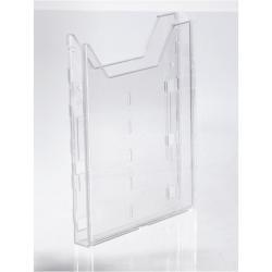 Porte-brochures DURABLE COMBIBOXX EXTENSION - Plateau de porte-document - pour A4 - transparent - pour P/N: 8578-19, 8613-19
