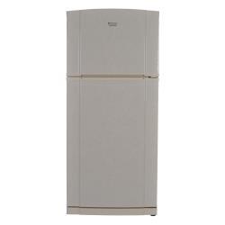 Réfrigérateur Hotpoint Ariston MTZ 629 NF - Réfrigérateur/congélateur - pose libre - largeur : 81 cm - profondeur : 72 cm - hauteur : 182 cm - 498 litres - congélateur haut avec distributeur d'eau - classe A+ - crème