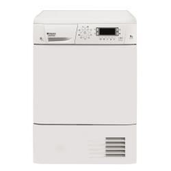 S�che-linge Hotpoint Ariston TCD G51 AX (EU) - S�che-linge - pose libre - largeur : 59.5 cm - profondeur : 62.3 cm - hauteur : 85 cm - chargement frontal - blanc
