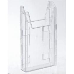 Porte-brochures DURABLE COMBIBOXX EXTENSION - Plateau de porte-document - pour 1/3 A4 - transparent - pour P/N: 8590-19, 8613-19