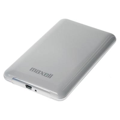 Maxell - HD-500GB-2.5 USB2.0 E-SERIES WHITE