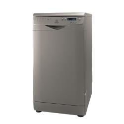 Lave-vaisselle Indesit DSR 57M94 A S EU - Lave-vaisselle - pose libre - largeur : 45 cm - profondeur : 60 cm - hauteur : 85 cm - argenté(e)