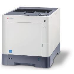 Imprimante laser Kyocera ECOSYS P6130cdn/KL3 - Imprimante - couleur - Recto-verso - laser - A4/Legal - 9 600 x 600 ppp - jusqu'à 30 ppm (mono) / jusqu'à 30 ppm (couleur) - capacité : 600 feuilles - USB 2.0, Gigabit LAN, hôte USB avec 3 ans d'assistance KYOlife