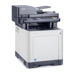 Imprimante laser multifonction Kyocera ECOSYS M6030cdn/KL3 - Imprimante multifonctions - couleur - laser - Legal (216 x 356 mm)/A4 (210 x 297 mm) (original) - A4/Legal (support) - jusqu'à 30 ppm (copie) - jusqu'à 30 ppm (impression) - 350 feuilles - USB 2.0, Gigabit LAN, hôte USB avec 3 ans d'assistance KYOlife