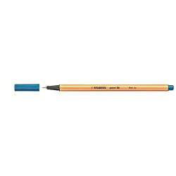 Stylo Stabilo point 88 - Feutre fin - bleu d'outremer - 0.4 mm - fin