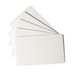 Cartes de visite DURABLE DURACARD STANDARD - Carte - polychlorure de vinyle (PVC) - 760 microns - 53.98 x 86.6 mm 100 carte(s) - pour DURACARD ID 300