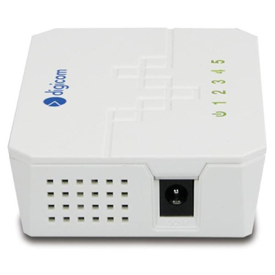 Digicom - MINI SWITCH 5 PORTE 10/100