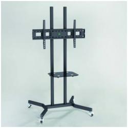 """Support pour LCD SOPAR TV STAND 50P-SHELF - Pied pour écran plasma / LCD - noir - Taille d'écran : 32""""-50"""""""