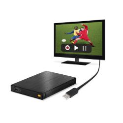 Disque dur externe LaCie Rikiki TV - Disque dur - 500 Go - externe (portable) - USB 2.0