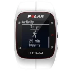 Cardiofréquencemètre Polar M400 - Avec capteur de fréquence cardiaque - montre de sport - cycle, Course à pied