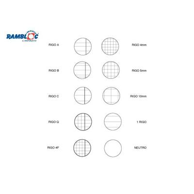 Rambloc - CF10RICAMB ROSA A4 4MM 40FF