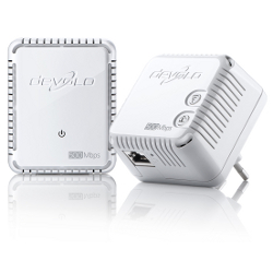 Power line Devolo - dLAN 500 WiFi Starter Kit