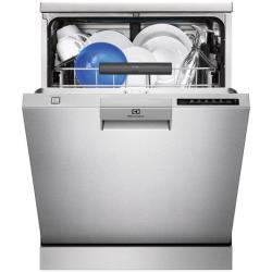 Lave-vaisselle Electrolux ESF7675ROX - Lave-vaisselle - pose libre - largeur : 60 cm - profondeur : 61 cm - hauteur : 85 cm - inox
