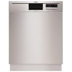 Lave-vaisselle encastrable AEG Favorit F56602UM0P - Lave-vaisselle - intégrable - Niche - largeur : 60 cm - profondeur : 57 cm - hauteur : 82 cm - inox