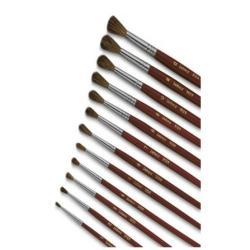 Pinceau Lebez 9124 - Pinceau - rond - taille : 6 - pack de 12