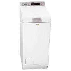 Lave-linge AEG LAVAMAT L86560TL4 - Machine à laver - pose libre - largeur : 40 cm - profondeur : 60 cm - hauteur : 85 cm - chargement par le dessus - 6 kg - 1500 tours/min - blanc