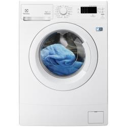 Lave-linge Electrolux EWS1266FDW - Machine � laver - pose libre - largeur : 60 cm - profondeur : 37.7 cm - hauteur : 85 cm - chargement frontal - 6 kg - 1200 tours/min - blanc
