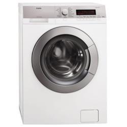 Lave-linge AEG LAVAMAT L85470SL - Machine à laver - pose libre - largeur : 60 cm - profondeur : 43 cm - hauteur : 85 cm - chargement frontal - 6.5 kg - 1400 tours/min - blanc