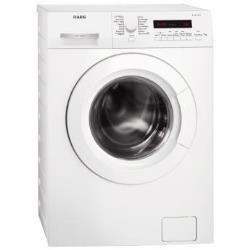 Lave-linge AEG LAVAMAT L73280FL - Machine à laver - pose libre - largeur : 60 cm - profondeur : 55 cm - hauteur : 85 cm - chargement frontal - 8 kg - 1200 tours/min - blanc