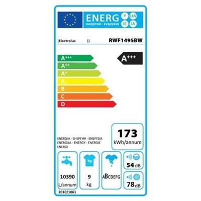 Lavatrice Electrolux - LAVATRICI RWF1495BW 9KG Y