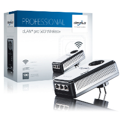 Adaptateur CPL Devolo - devolo dLAN pro 500 Wireless+ -...