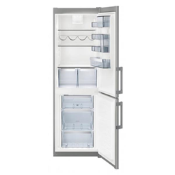 Réfrigérateur AEG S53620CTXF - Réfrigérateur/congélateur - pose libre - largeur : 59.5 cm - profondeur : 64.7 cm - hauteur : 184.5 cm - 318 litres - c