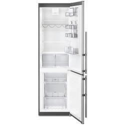 Réfrigérateur Electrolux EN3858MFX - Réfrigérateur/congélateur - pose libre - largeur : 59.5 cm - profondeur : 64.7 cm - hauteur : 200.5 cm - 357 litres - congélateur bas - Classe A++ - inox