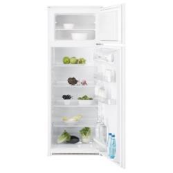 Réfrigérateur encastrable Electrolux RJN2301AOW - Réfrigérateur/congélateur - intégrable - niche - largeur : 56 cm - profondeur : 55 cm - hauteur : 144.6 cm - 218 litres - congélateur haut - classe A+ - blanc