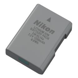 Batterie Nikon EN EL14a - Pile pour appareil photo Li-Ion 1230 mAh - pour Nikon D3200, D3300, D3400, D5200, D5300, D5500, D5600, Df; Coolpix P7100, P7700, P7800
