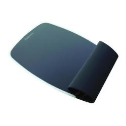 Fellowes Silicone Wrist Rocker - Tapis de souris avec repose-poignets - graphite