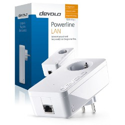 Power line Devolo - dLan 1200 + 1 porta Ethernet 9375