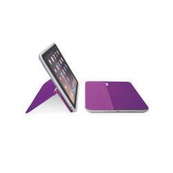 Coque Logitech AnyAngle - Protection à rabat pour tablette - violet - pour Apple iPad mini; iPad mini 2; 3