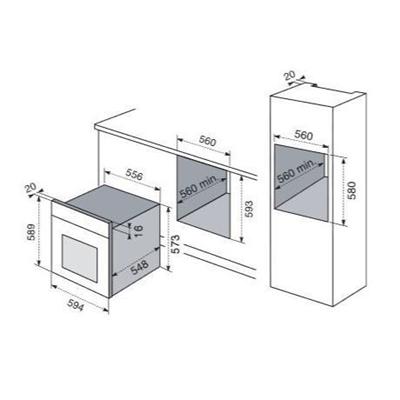Electrolux - ELECTROLUX FORNO EOB8747AOX