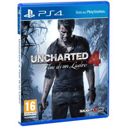 Jeu vidéo Uncharted 4: A Thief's End - PlayStation 4 - italien