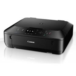 Imprimante  jet d'encre multifonction Canon PIXMA MG5650 - Imprimante multifonctions - couleur - jet d'encre - 216 x 297 mm (original) - A4/Legal (support) - jusqu'à 12.2 ipm (impression) - 100 feuilles - USB 2.0, Wi-Fi(n)