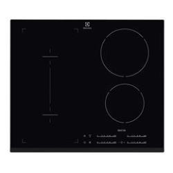 Plan de cuisson Electrolux EHI 6540 F8K - Table de cuisson à induction - 4 plaques de cuisson - Niche - largeur : 56 cm - profondeur : 49 cm - noir