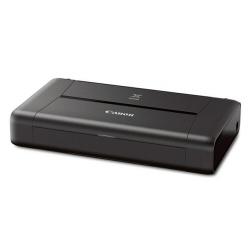 Imprimante à jet d'encre Canon PIXMA iP110 - Imprimante - couleur - jet d'encre - A4/Legal - jusqu'à 9 ipm (mono) / jusqu'à 5.8 ipm (couleur) - capacité : 50 feuilles - USB 2.0, Wi-Fi(n)
