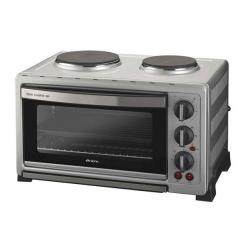 Four électrique Ariete Bon Cuisine 380 977 - Four électrique avec plaques chauffantes - 38 litres - 1600 Watt