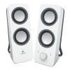 Enceinte PC Logitech - Logitech Z200 - Haut-parleurs -...