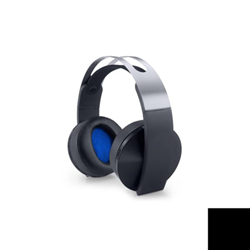 Sony Platinum Wireless Headset - Casque - sur-oreille - sans fil - radio - pour Sony PlayStation 4, Sony PlayStation 4 Pro, Sony PlayStation 4 Slim