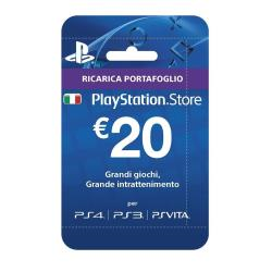 Abonnement en ligne Sony PlayStation Network Card - Gift Card - (EUR20) - Italie
