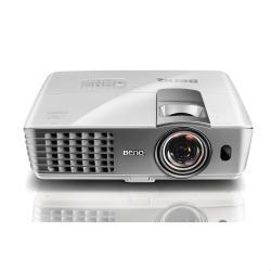 Vid�oprojecteur BenQ W1080ST+ - Projecteur DLP - 3D - 2200 ANSI lumens - 1920 x 1080 - 16:9 - HD 1080p - objectif zoom de courte port�e