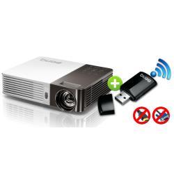 Vidéoprojecteur BenQ GP30 - Projecteur DLP - 3D - 900 ANSI lumens - WXGA (1280 x 800) - 16:10 - HD 720p