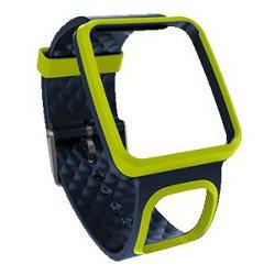 TomTom Comfort Strap (Slim) - Dragonne - bleu foncé/vert - pour TomTom Multi-Sport Cardio, Runner, Runner Cardio
