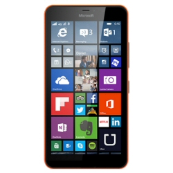 "Smartphone Microsoft Lumia 640 XL LTE - Smartphone - 4G LTE - 8 Go - microSDXC slot - GSM - 5.7"" - 1 280 x 720 pixels (259 ppi) - 13 MP (caméra avant de 5 mégapixels) - Windows Phone 8 - orange"
