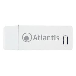 Adaptateur bluetooth Atlantis Land NetFly USB 300 - Adaptateur réseau - USB 2.0 - 802.11b, 802.11g, 802.11n (draft 2.0)