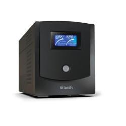 UPS onduleur Atlantis Land Linea Professional HostPower 1502 - Onduleur - CA 230 V - 750 Watt - 1500 VA 7.2 Ah - USB - connecteurs de sortie : 4
